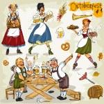 Oktoberfest collection — Stock Vector #43417983