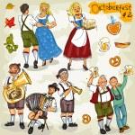 Oktoberfest collection — Stock Vector #43417985