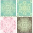 Seamless vintage backgrounds — Stock Vector #43418493