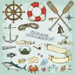 Sailing Collection — Stock Vector #43419117