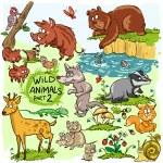 野生动物 — 图库矢量图片