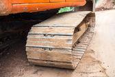 Big excavator — Stock Photo