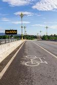 Väg cykel. — Stockfoto
