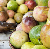 Passionfruit market in Thailand — Stock Photo