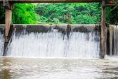 River locks In Thailand — Stock Photo