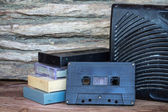 Retro Audio Cassette — Stockfoto
