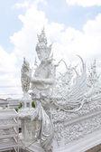 Wat Rong Khun,Chiangrai, Thailand — Stock Photo