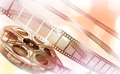 Cinema film reel — Stock Photo