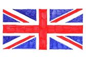 UK Flag - Union Jack — Stock Photo