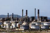 Harbour Oil Refinery — Stock Photo