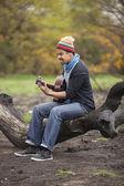 Musician — ストック写真