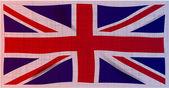Гранж Юнион Джек флаг — Cтоковый вектор