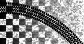 Flag Skid Mark — Stock Vector