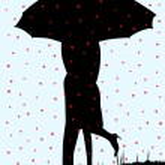 Постер, плакат: Raining Hearts