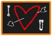 Valentine tabule — Stock vektor