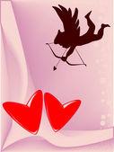 Lovers Hearts — Stock Vector
