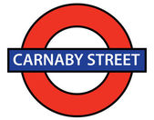 Carnaby Street — Stock Vector