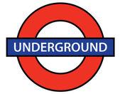 London Underground — Stock Vector