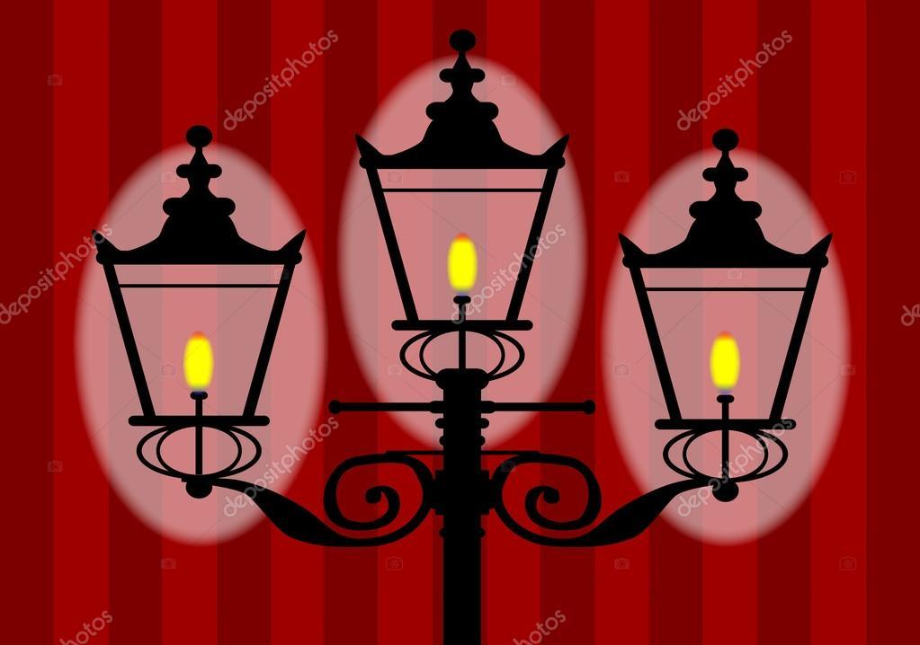 Wall Lamps Vector : Wall Lamp Stock Vector ? BigAlBaloo #44557317