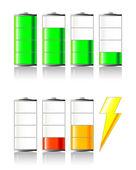 Battery Charging — Stock Vector