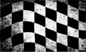 Dirty Chequered Flag — Stock Vector