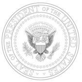 Presidential Seal — Stock Vector