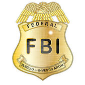 FBI Badge — Stock Vector