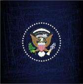 President Seal Eagle — Stock Vector