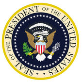 President Seal — Stock Vector