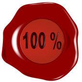 Seal 100 Percent. — Stock Vector