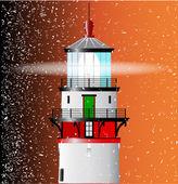 Lighthouse Lens — Stock Vector