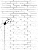 Karaoke Poster Sketch. — 图库矢量图片