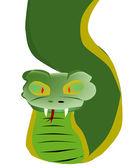 Serpent — Stock Vector