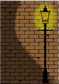 Lamplight — Stock Vector