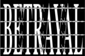Betrayal — Stock Vector