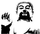 Buddha — Stockvektor