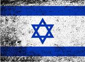 Izraelská vlajka — Stock vektor