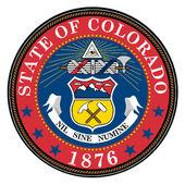 Colorado State Seal — Stock Vector