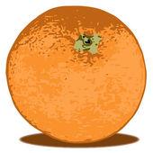 Pomarańczowy — Wektor stockowy