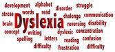 Dysleksja — Wektor stockowy