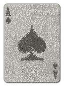Ace of Spades Mosaic — Vetorial Stock