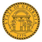 Seal of Georgia — Stock Vector