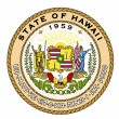 State Seal of Hawaii — Vector de stock
