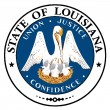 Louisiana State Seal — Stock Vector