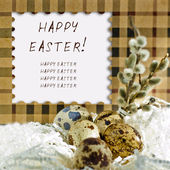 Easter card — Foto de Stock