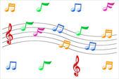 Music Symbols. — Stock Vector