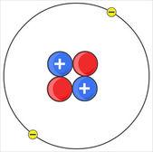 Atom. — Stockvektor