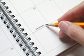 Holiday Planner — Stock Photo
