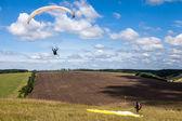 Paraglider — Stockfoto