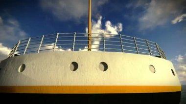 泰坦尼克号 》 的鸟瞰图 — 图库视频影像
